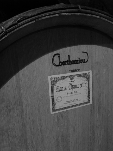 In the Cellar of Domaine Maume
